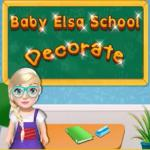 Baby Elsa School Decorate