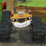 Stripes Monster Machines Puzzle